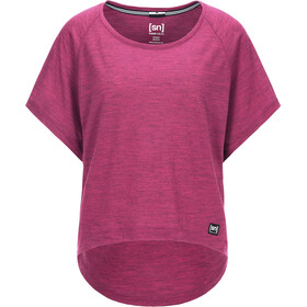 super.natural W's Peyto Tee Loganberry 3D